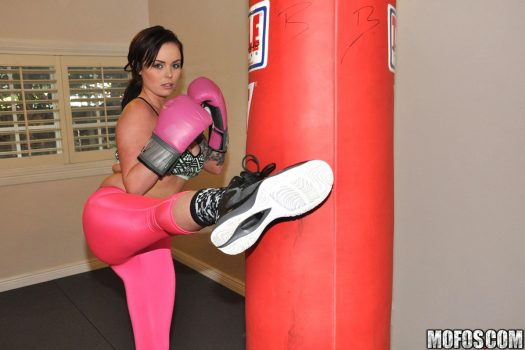 Roxii Takes Boxing Lessons